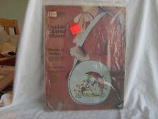New listing Paragon Needlecraft Hummel Umbrella Children Crewel Stitchery Kit #368 Handbag