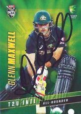 Autographed Original Cricket Trading Cards Season 2015