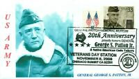 GENERAL GEORGE PATTON, JR, WW II Army General Portrait Veterans Day Pictorial PM