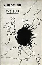 "WW1 WWI Propaganda - ""A Blot on the Map"" - PV497"