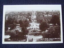 OLD REAL PHOTO-PC~LE HAVRE~JARDINS DE L'HOTEL DE VILLE ET RUE DE PARIS~ANIMATED