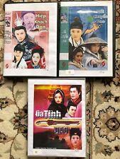 HIEP KHACH DAO - HOI CHUYEN DAO - DA TINH DAO -  3 PHIM BO DAI LOAN - 11 DVD