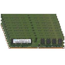 Low-Density! 20GB 10x 2GB Desktop/PC DDR2 PC2-6400U 800 RAM Memory For Intel Cpu
