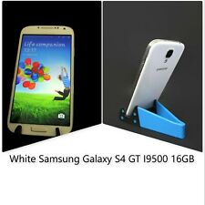 Samsung Galaxy S4 GT I9500 16GB  White Frost Unlocked Smartphone Cell Phone