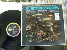 """Stan Kenton: """"Artistry in voces y latón"""". 1965 Capitol Mono. casi nuevo upgrader!"""