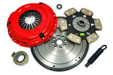 KUPP PREMIUM RIGID 6-PAD CLUTCH+FLYWHEEL KIT for JDM 1993-95 CIVIC 1.6L B16
