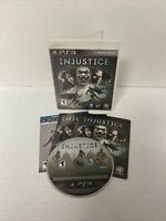 NICE DISC! Injustice: Gods Among Us PlayStation 3 PS3 Game Complete Case Manual