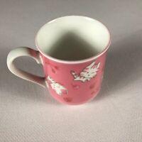 Hello Kitty Mug Pink All Over Design Schen Cherry Strawberry Tea Coffee Drink