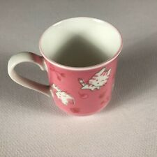 Hello Kitty Mug Pink All Over Design Schen Cherry Strawberry Tea Coffee Drink