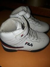 Fila Original 7VF80117-150 White/Navy Blue/Red Leather Toddler Shoes Sz 7 l@@k