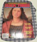 """""""Slick Times"""" Bill & Hillary Clinton,Linda Tripp,Jay Letterman, Jan.-Feb.1999"""