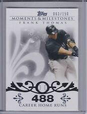 FRANK THOMAS 2008 Topps Moments and Milestones #063/150 #3-488 (D1492)
