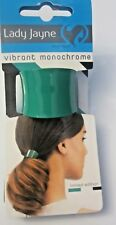 Lady Jayne vibrant monochrome semi cuff Limited edition Ponytail