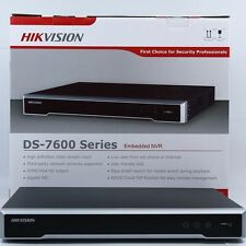 HIKVISION 4K ULTRA HD 16ch NVR DS-7616NI-I2/16P Upgradable Firmware 3yr Warranty