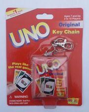 UNO ORIGINAL CARD GAME KEYCHAIN / KEYRING BRAND NEW!