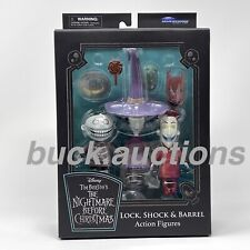 Lock Shock Barrel Diamond Select Toys Rare Figure Nightmare Before Christmas New