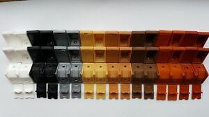 Plastic Corner Connecting Bracket Worktop Shelving Support PACK SIZE 25 50 100