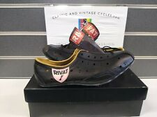 NOS Vintage Leather Pro Cycling Shoes 1970-80's Size 40 Eroica Ready New in Box