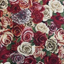 Fabric Tapestry 80% Cotton 20% Polyester Amsterdam Roses