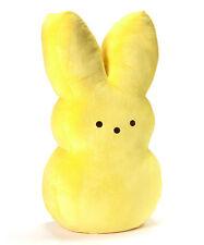 "Peeps Yellow Peeps Bunny Medium 9"" Plush Easter New"