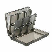 28 in 1 Game Case For Nintendo 3DS 3DS XL SD Card Cartridge Stylus Holder Clear
