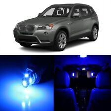 16 x Error Free Blue LED Interior Light Kit For 2011-2015 BMW X3 Series + TOOL