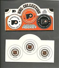 Philadelphia  FLYERS   POGS  - 1995 limited edition - 2 sets !  - unpunched  ...