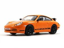 Porsche 911 GT3 Orange Color 2-door Coupé Diecast Model Car 1:43 Scale (1999)