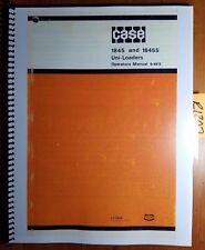 Case 1845 1845s Uni Loader Skid Steer Owners Operators Manual 9 4915 979