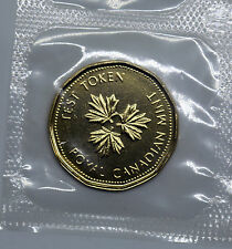 2004 CANADA Loonie $1 TEST TOKEN SCARCE Sealed