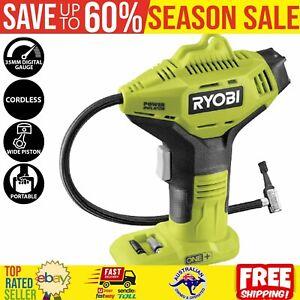 Ryobi 18V ONE+ Digital Gauge Cordless Pressure Inflator 150PSI - Skin Only