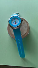 Unbranded Stainless Steel Case Plastic Strap Wristwatches