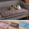 Cat Bowl Mat Dog Pet Feeding Water Food Dish Tray Cushion Clean Pad Placemat Pet