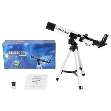 40040 Portable Refractor Astronomical Telescope Optical Lens W/ Tripod For Kids