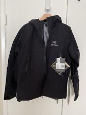 Arc'teryx Arcteryx Men's Beta LT Jacket Black Size Medium NEW 2018