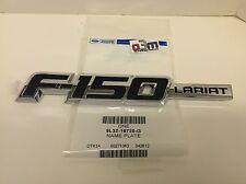 Ford F-150 RH Fender Chrome F-150 Lariat Emblem NAMEPLATE new OEM