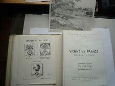 1947 VIENNE EN FRANCE D'HIER ET D'AUJOURD'HUI JEAN D'AUVERGNE SOLEIL DE FRANCE