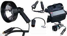 100W HAND HELD HUNTING LAMP, FOX, DEER, LAMPING,&, BATTERY, CHARGER,KIT L001+BAT