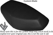 CARBON FIBRE VINYL CUSTOM FITS PULSE SCOUT 50 BOATIAN DUAL SEAT COVER