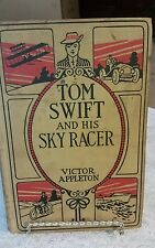 Victor Appleton TOM SWIFT AND HIS SKY RACER Grosset and Dunlap c1911