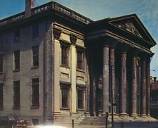 c1940-50s First Bank of United States Postcard Unposted Philadelphia PA