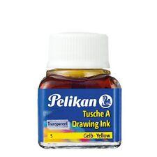 Inchiostro di China Pelikan 10 ml in vetro - giallo (5) - 201541
