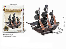 Mini Black Pearl Ship Model 3D Paper Cardboard Jigsaw Puzzle NEW