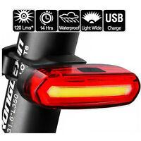 Fanale posteriore a LED a batteria ricaricabile per bicicletta Fanale posteriore