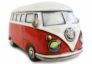 GRADE B - Camper Van Gift, Money Pot Handmade by Life Arts RRP £14