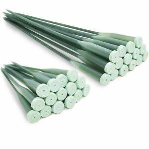 Floral Water Tubes, Supplies for Flower Arrangements (2 Sizes, 30 Pack)