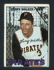1967 Topps #448 Harry Walker G Pirates MG/DP 37669