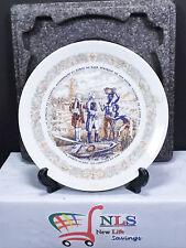 Darceau Limoges Porcelain Plate Premiere Edition Fait a La Main Lafayette Legacy