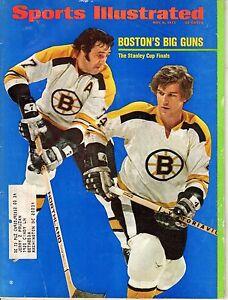 1972 Sports Illustrated magazine hockey Bobby Orr Phil Esposito Boston Bruins FR