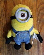 "1 Plush Despicable Me Minion Stuart Toy Stuffed Doll Movie Figure 5"""